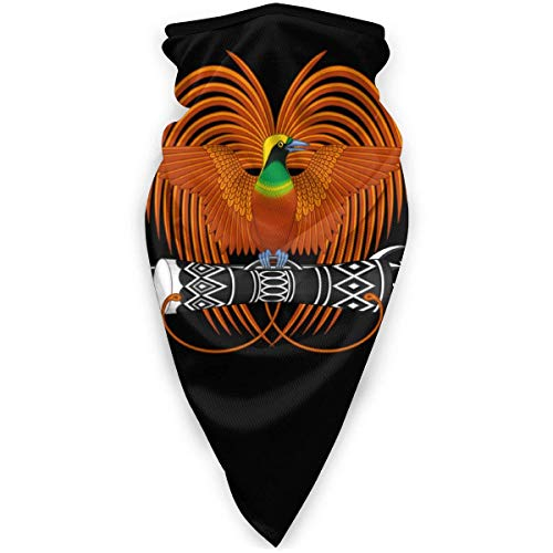 Emblema nacional de Papúa Nueva Guinea - Funda para la boca unisex para festivales de Año Nuevo, maestros escalando la cara y la boca