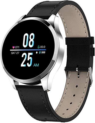 Reloj inteligente con monitor de sueño reloj de pulsera de fitness ip67 impermeable pulsera deportiva-cuero de la astilla