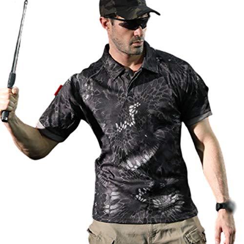 FACAI Camiseta Gym | Ropa Superior de Entrenamiento de Culturismo para Hombre,Onecolor-M