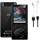 32GB MP3 Player with Bluetooth 5.1 Built-in Speaker, 2.4 Inch Large Screen HiFi Lossless Sound MP3 Music Player with FM Radio Voice Recorder for Kids Student Adult mp4 Player, Support up to 128GB