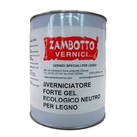 Décapant puissant gel neutre pour bois de 1 ou 5 litres 1L transparent