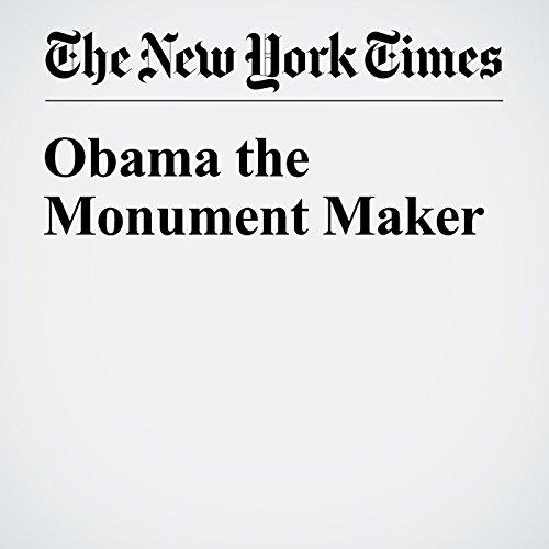Obama the Monument Maker cover art