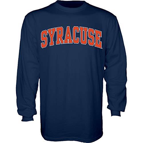 The Blue Brand Blue84 NCAA Herren-T-Shirt, langärmelig, Syracuse Orange Navy, Größe XL