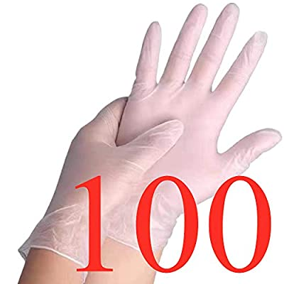 Amazon - 20% Off on Disposable Gloves PVC Gloves Vinyl Gloves Cleaning Gloves XL for All Hands
