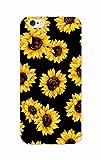 Linda Margarita del Girasol Floral de la Flor Claro Suave Caja del teléfono para iPhone Coque Fundas 7 7plus 6 6S 8 8plus X XS MAX para Samsung, 6, 6 para iPhone 6S