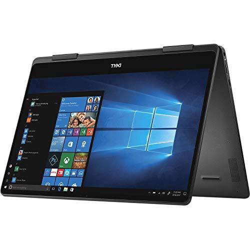 Dell Inspiron 13 7000 2 in 1 Premium 2019, 13.3' 4K UHD IPS Touchscreen Laptop, Intel Quad-Core i7-8565U, 16GB DDR4, 256GB PCIe SSD, HD Webcam HDMI USB-C WiFi Backlit KB Fingerprint Active Pen Win 10