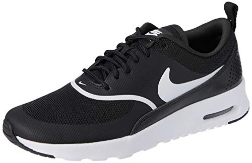 Nike Wmns Air Max Thea, Scarpe Stringate Derby Donna, Nero (Black/White 028), 36 EU