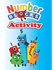 Numberblocks activity book: Fun activities, a coloring book of all the characters...