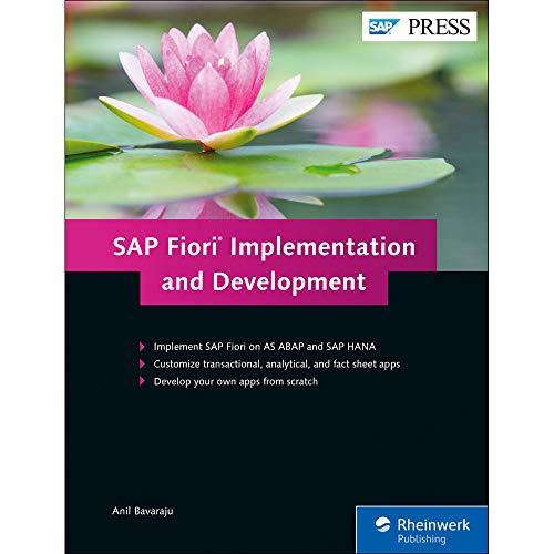 SAP Fiori Implementation and Development (SAP PRESS: englisch)