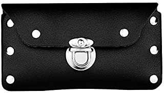 Durable Leather Belt CASE Cell Phone Pouch Compatible with Apple, Samsung, LG and Other Mayor Brands, ESTUCHE O CARTUCHERA DE Cuero Artificial para MOVILES EN CINTO DE Larga DURACION.