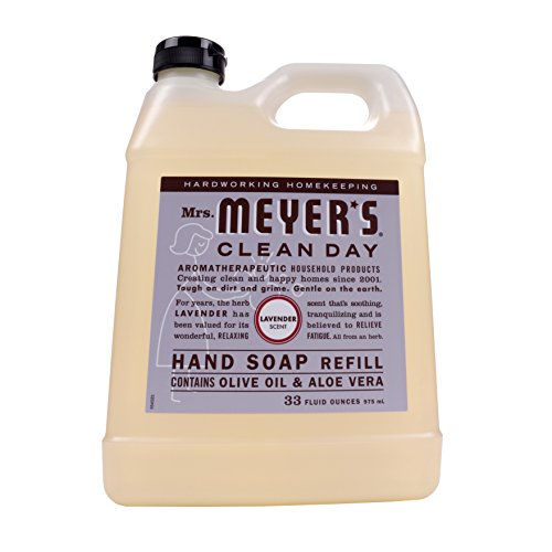 MRS Meyers Clean Day Soap Refill, Liquid Lavender, 33 Ounce (Pack of 6)