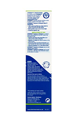 Stérimar - Isotonic Hayfever & Allergy Relief - Nasal Spray - 50ml, 505271