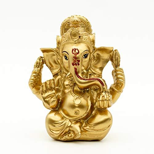 Indian Ganpati Idol Car Dashboard - Hindu Diwali Ganesha Statue - Pooja Idols Buddha Murti