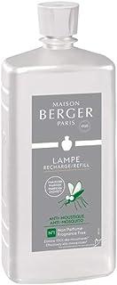 Lampe Berger Paris 116066 Ambientador antimosquitos, Aroma Neutral, 1 L