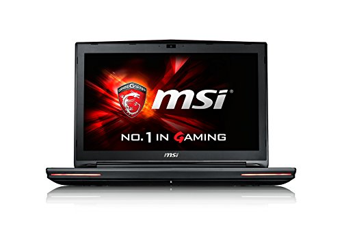 MSI GT726QF-089FR Ordinateur Portable Non tactile 17'(43,18 cm) Noir (Intel Core i7, 16 Go de RAM, 1 To, Nvidia GeForce 980, Windows 10)