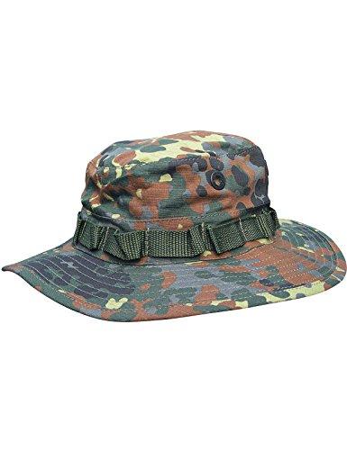 Boonie Hat Buschut GI Army Tropen Hut Camouflage Fleck Tarn L