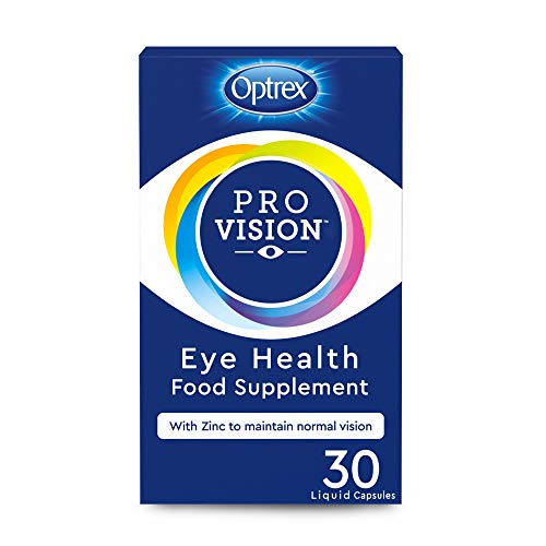 Optrex ProVision Capsules Eye Health Food Supplement, pack of 30