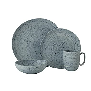 Mikasa 5229308 Whistler 4-Piece Place Setting, Service for 1, Blue