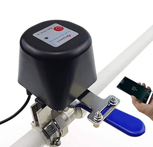 Z-valve ZigBee WiFi-Ventilsteuerung, Tuya Smart Wasser/Gasventil 2.4GHz Kompatibel mit Alexa/Google Home/IFTTT, Automation Irrigation Controller Watering System Kompatibel mit iOS/Android