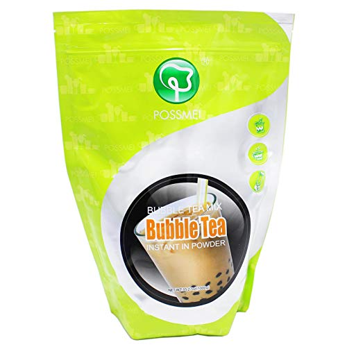Possmei Bubble Tea Powder Mix (all in one) Instant Pulver 1kg (Papa Vo®)