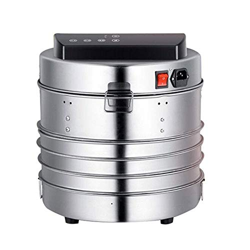 Find Discount IhDFR Dehydrator with Timer - 360W, 5 Large Drying Levels, Recirculating Mode, Natural...
