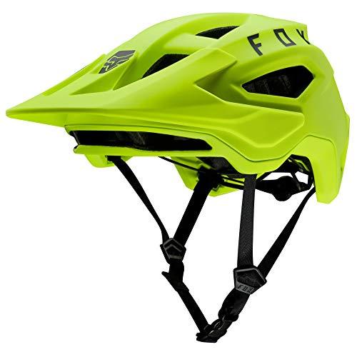 FOX Speedframe Helm Herren Fluorescent Yellow Kopfumfang S | 51-55cm 2020 Fahrradhelm
