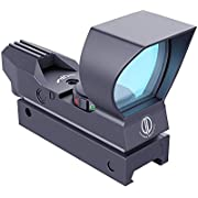 Dagger Defense -Combat Vet Owned Company- DD102 Red Dot Reflex Sight Scope- Reflex Sight Optic and Substitute for Holographic red dot Sights