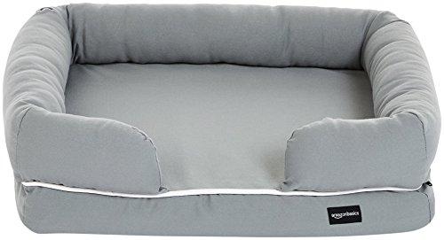 Amazon Basics - Sofá cama para mascotas, Pequeño