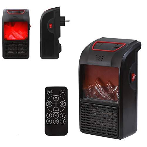 2020 nuevo calentador portátil Calentador de espacio con pantalla analógica de estufa...