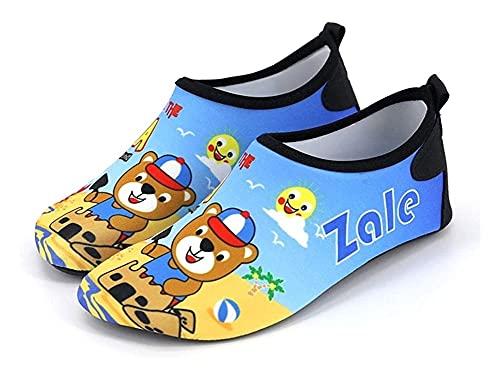 Playa para adultos para niños Zapatos de playa al aire libre interior de piso antideslizante de calzado de yoga zapatos de yoga zapatos de balancín para niños zapatos de agua para niños al aire libre