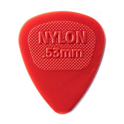 Dunlop Nylon púas de guitarra estándar de Midi