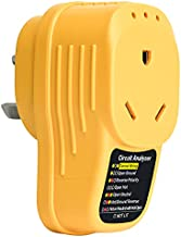 RV Surge Protector 30 Amp, Briidea Adapter Circuit Analyzer with LED Indicator Light, 30 Amp Male to 30 Amp Female for RV Trailer