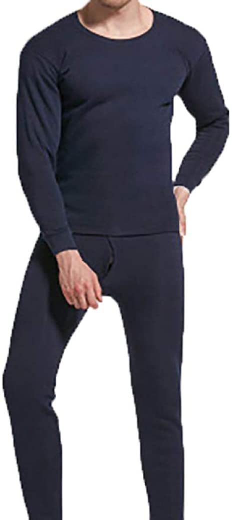 Mens Thermal Underwear Set Ultra Soft Long John Suit Winter Warm Base Layer Top and Bottom