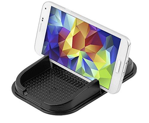 Smartphone mobiele telefoon anti-slip pad, opslag, opbergruimte voor auto, dashboard, munten, pennen, houder, mobiele telefoonhouder, GPS, navy