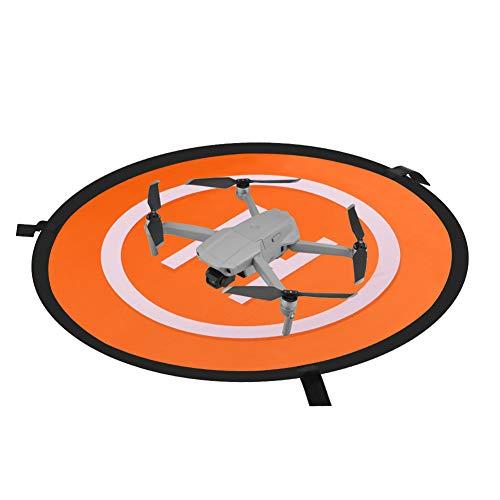 110 cm/43 pulgadas RC Drone impermeable plegable almohadilla de aterrizaje para DJI Tello Mavic 2 Zoom Air Pro Platinum Phantom 3 4 Spark Accesorios de alto contraste (29.5 pulgadas landing pad)