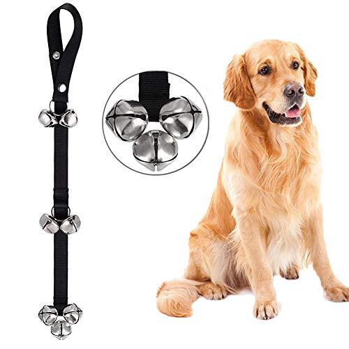 Weiye Dog Deurbellen Premium Kwaliteit Training Potty Grote Hond Klokken Verstelbare Deur Bell Klokken voor Potty Training Uw Puppy - 7 Extra Grote Luid 1,5 Deurbellen