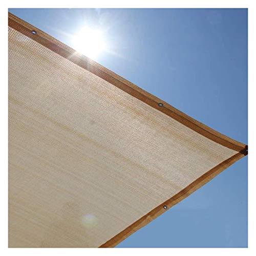 LSSB Paño de Sombra de Jardín 90% UV Bloquear Respirable Anti-envejecimiento Temperatura Gota Malla Sombreo para Al Aire Libre, Patio Trasero, Greenhouse, Barn, Plant, Adaptable