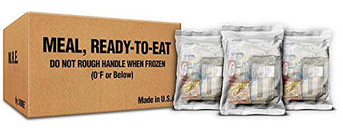 XMRE SAFECASTLE Meals 1300XT Lite - 12 Case with Heaters (Meal Ready to Eat - Military Grade) New Fresh Dates Meals Bundled w/Bonus SAFECASTLE Tool Lite -12 Case with Heaters