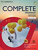 Complete Preliminary Second edition. Student's Book without answers with Online Practice.: For the Revised Exam from 2020