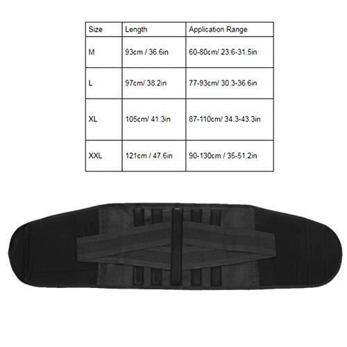 Pwshymi Cinturón de Calentamiento automático Protector de cinturón Cómodo para Mejorar y Promover el metabolismo(XL)