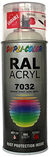 Dupli-Color 349720 RAL-Acryl-Spray 7032, 400 ml, Kieselgrau Glanz