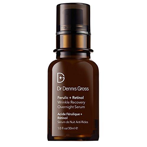 Dr Dennis Gross Ferulic Plus Retinol Wrinkle Recovery Overnight Serum, per stuk verpakt (1 x 30 ml)