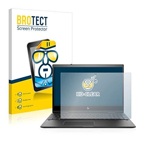 BROTECT Schutzfolie kompatibel mit HP Envy x360 15-cn0008ng klare Displayschutz-Folie