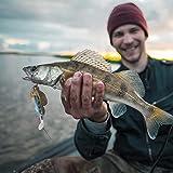 Redxiao Vivid 3D Eye Fish Bait, Cebo Artificial Swimbaits, Juego de señuelos de Pesca, 3 Piezas de Aparejos de Pescado para niños Adultos Que atraen a los Amantes de la Pesca de(001)