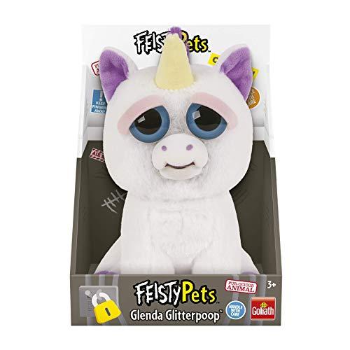 Feisty Pets Peluche Unicornio, color blanco/morado, Talla Única (Goliath Games 32295) , color/modelo surtido