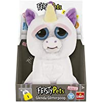 Feisty Pets Peluche Unicornio, Color Blanco/Morado, Talla Única (Goliath Games 32295)