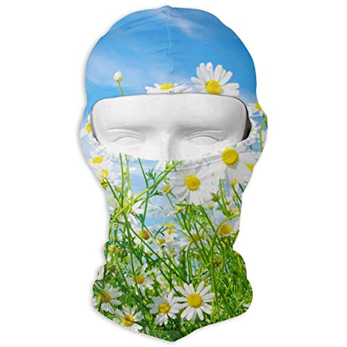 ALaze Printemps Daisy Flower Multipurpose Sports de Plein air Crème Solaire Coupe-Vent et poussière Cou Guêtre Tube Oreille Warmer Balaclava Bandeau