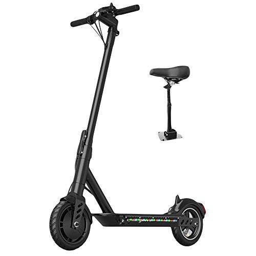 Krachtige elektronische Vespa, inklapbare zitting, kick-scooter, met lithium-accu, elektrische rem voor volwassenen en jongeren.