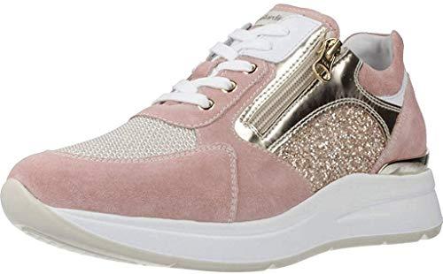 sneakers donna primavera 2020 Spuntato da Donna NeroGiardini in Pelle peonia E010500D. Spuntato dal Design Raffinato. Collezione Primavera Estate 2020. EU 35