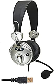 CAD Audio USB U2 Stereo Headphones with Cardioid Condenser Microphone photo